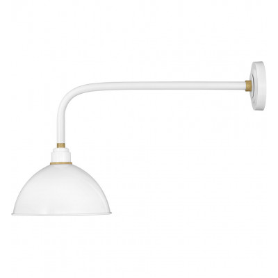 """Foundry Dome 18.5"""" Outdoor Wall Sconce"""