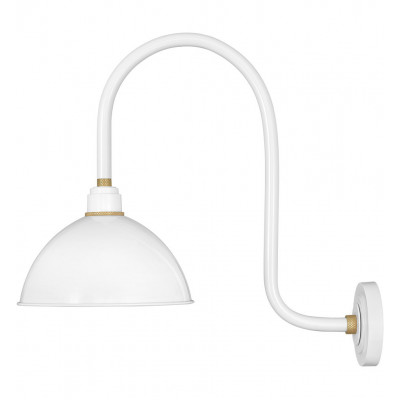"""Foundry Dome 23.75"""" Outdoor Wall Sconce"""