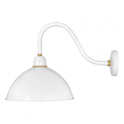 """Foundry Dome 20"""" Outdoor Wall Sconce"""