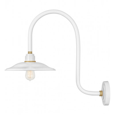 """Foundry Vintage 23.25"""" Outdoor Wall Sconce"""