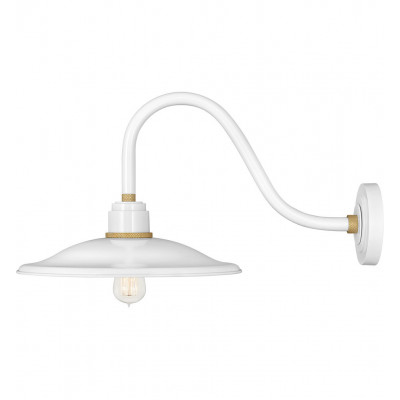 """Foundry Vintage 13"""" Outdoor Wall Sconce"""