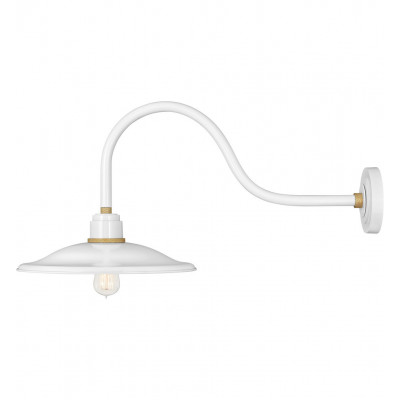 """Foundry Vintage 15"""" Outdoor Wall Sconce"""