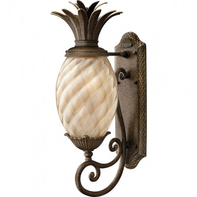 "Plantation 21.25"" Outdoor Wall Sconce"
