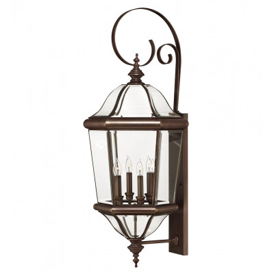 """Augusta 38.75"""" Outdoor Wall Sconce"""