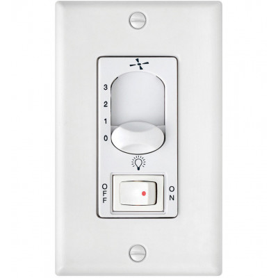 Wall Control 3 Speed, On/Off Switch