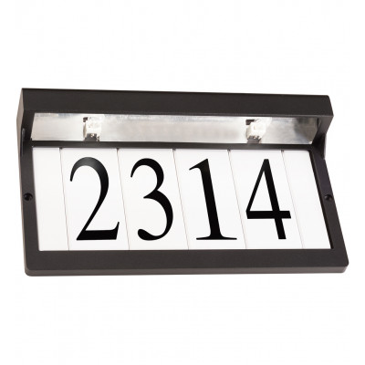 """Address Light 7"""" Outdoor Wall Light"""