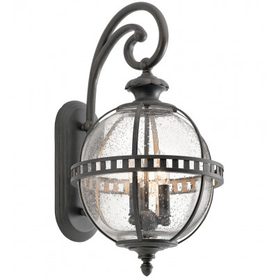 "Halleron 22.75"" Outdoor Wall Sconce"