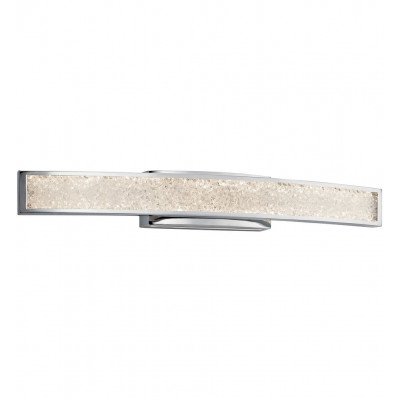 "Crushed Ice 36"" Bath Vanity Light"