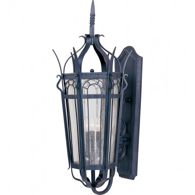 """Cathedral 37"""" Outdoor Wall Sconce"""
