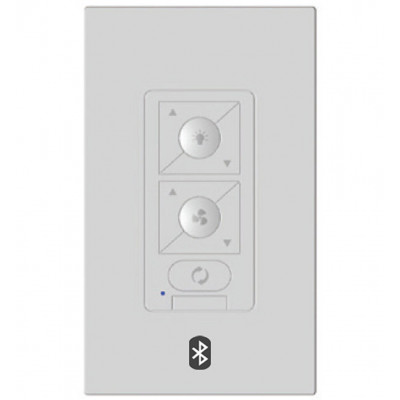 6Speed Bluetooth Ceiling Fan Wall Control with Single Pole Wallplate
