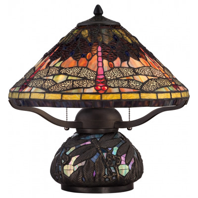 """Tiffany 16.5"""" Table Lamp"""
