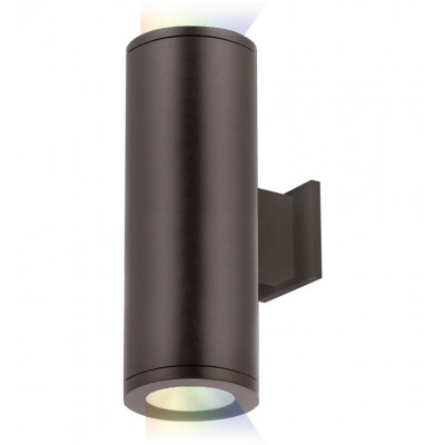 "Tube Architectural 12.5"" Outdoor Wall Sconce"
