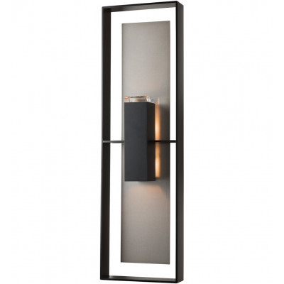 Shadow Box Tall Outdoor Wall Sconce