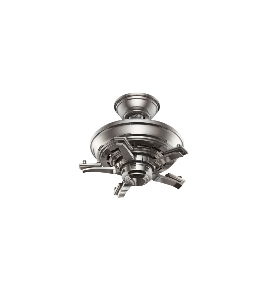 Casablanca Fan Company - 54084 - Academy Brushed Nickel Fan Motor