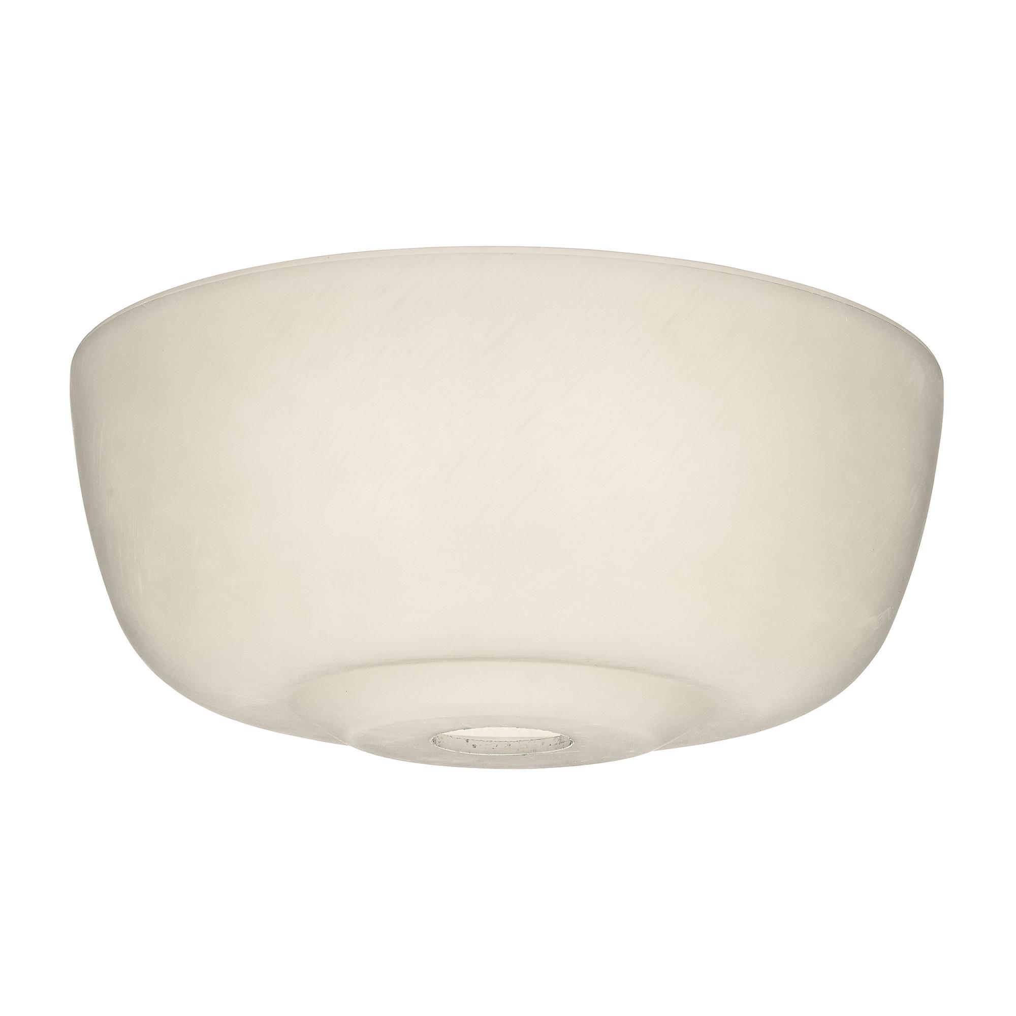 Casablanca Fan Company - 99059 - Cased White Glass Bowl