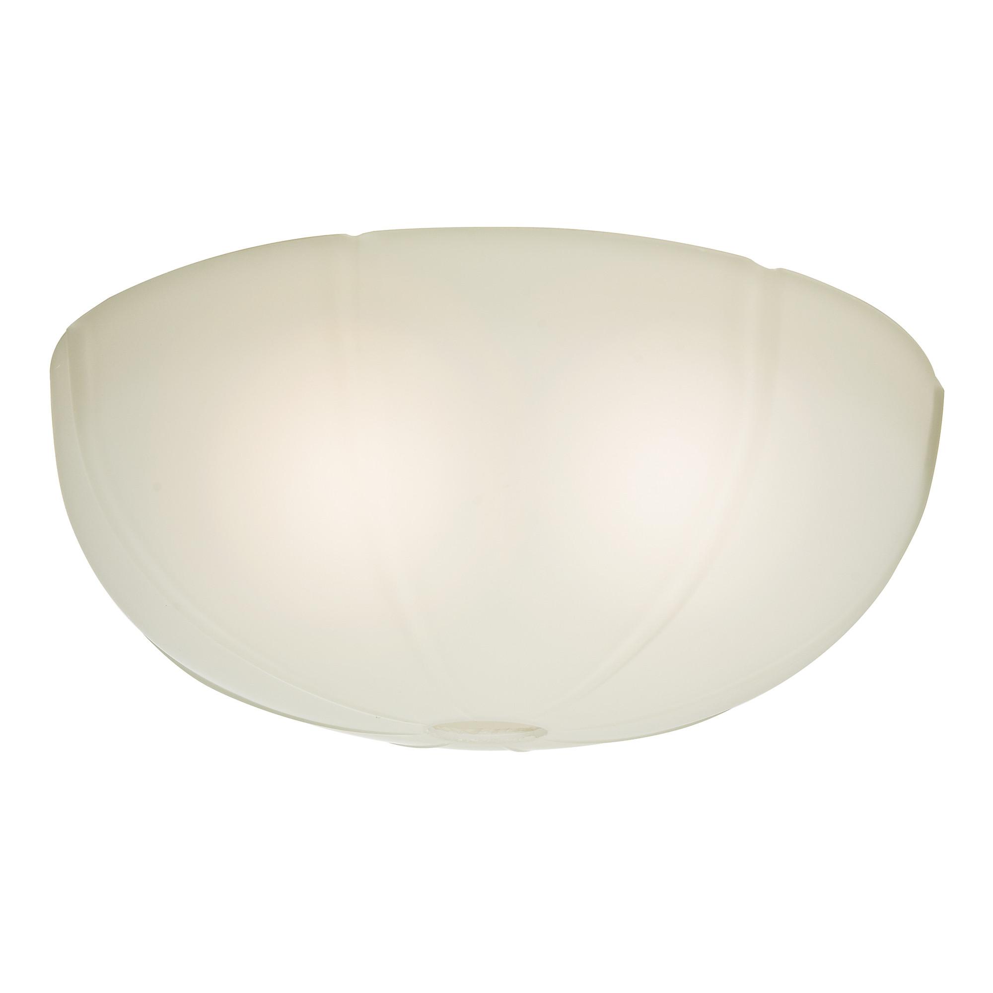 Casablanca Fan Company - 99061 - Cased White Glass Bowl