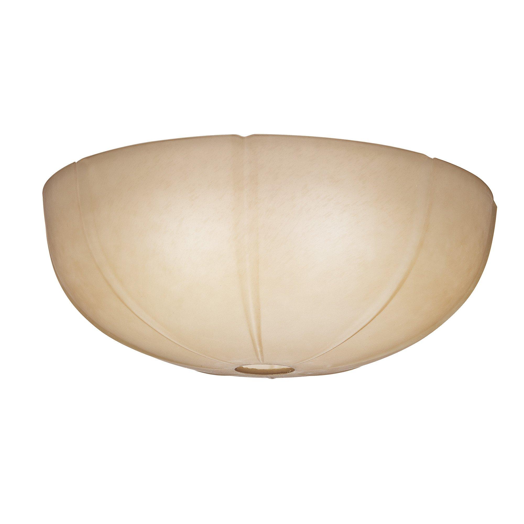 Casablanca Fan Company - 99062 - Tea Stain Glass Bowl