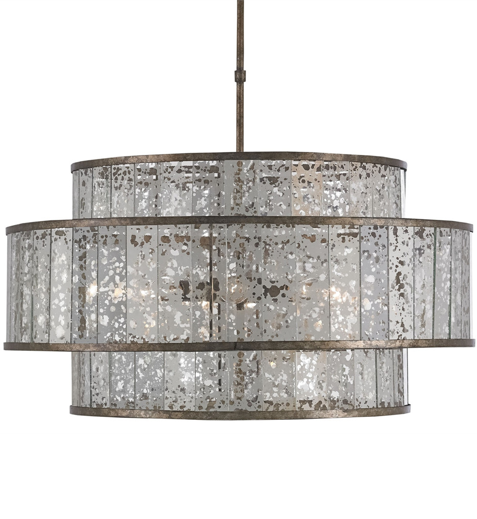 Currey & Company - 9454 - Fantine 8 Light Chandelier with Pyrite Bronze/Raj Mirror Finish