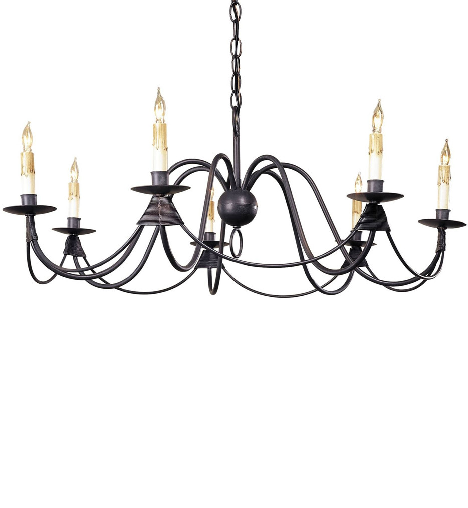 Currey & Company - 9500 - French 7 Light Chandelier with Antique Bronze Finish