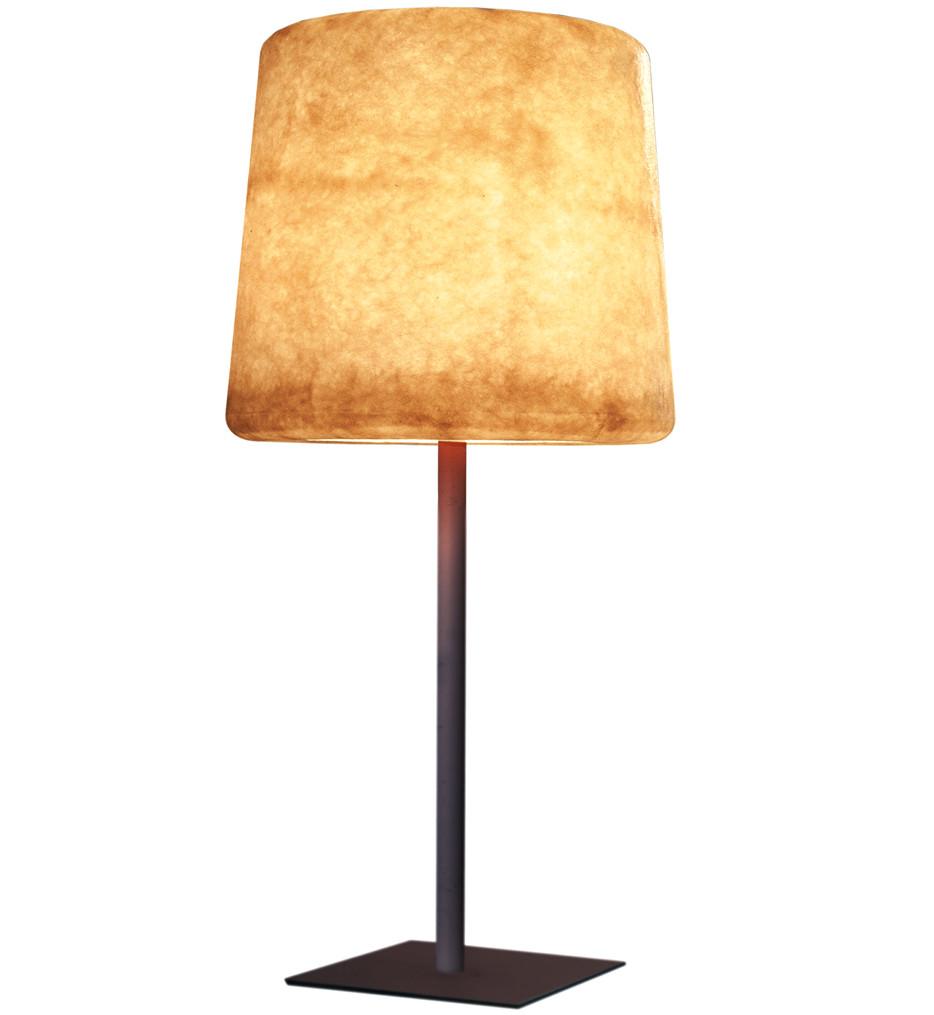 Contardi Lighting - ACAM.001816 - XXL Ivory Lacquered Metal Outdoor Floor Lamp