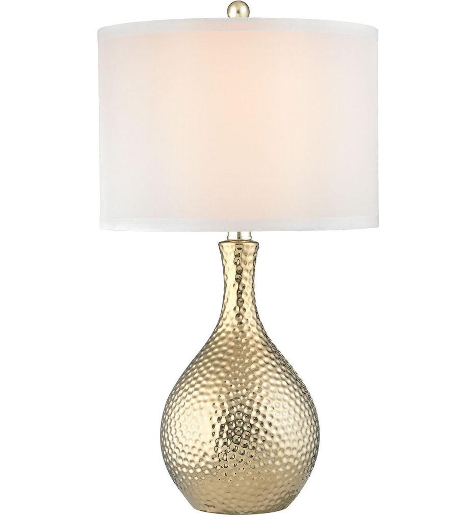 Dimond - D2940 - Soleil Gold Plate Table Lamp