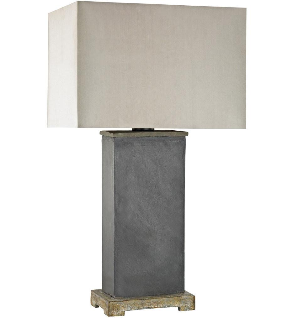 Dimond - Elliot Bay Grey Slate Outdoor Table Lamp