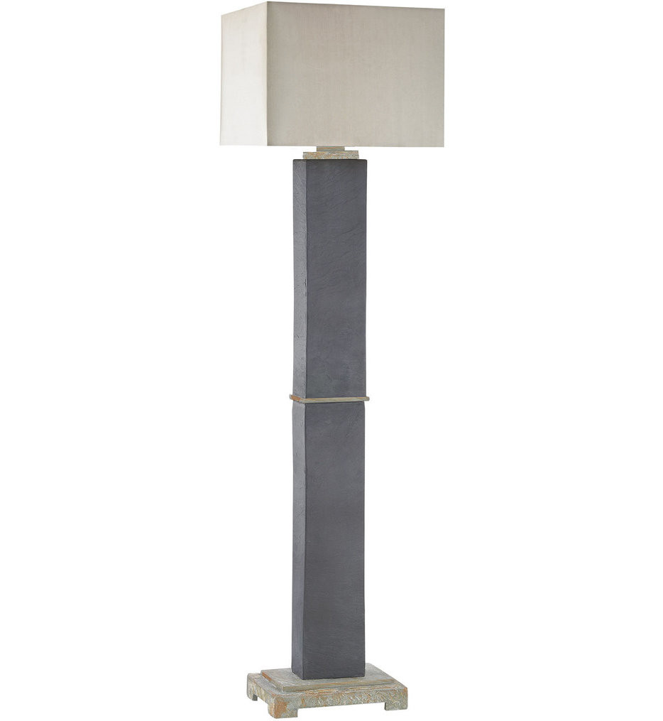 Dimond - Elliot Bay Grey Slate Outdoor Floor Lamp