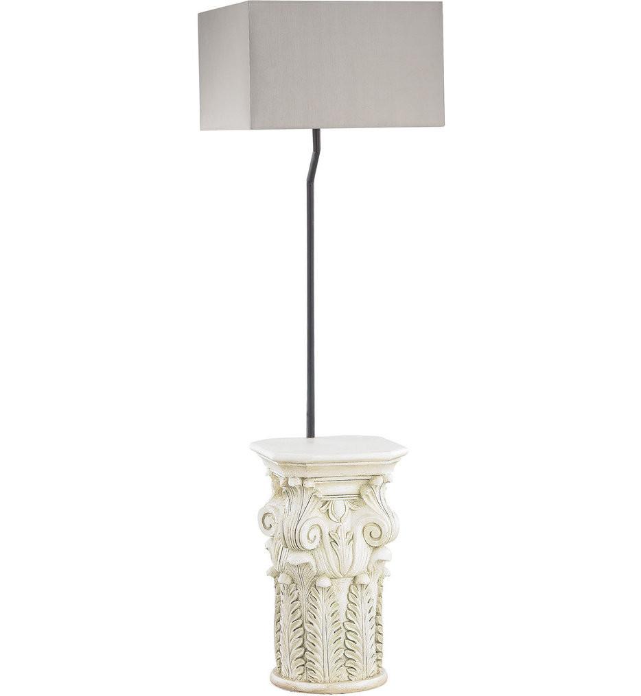 Dimond - Patras Antique White Outdoor Floor Lamp