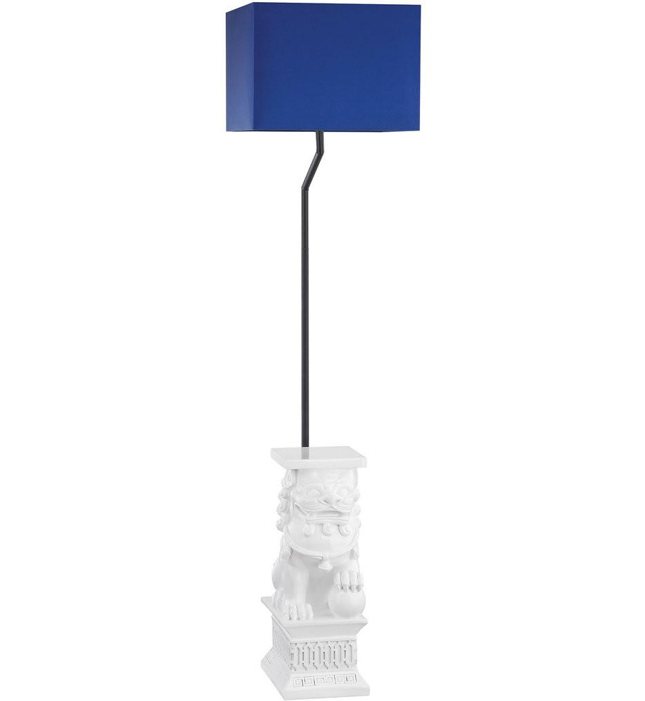 Dimond - Wei Shi Gloss White Outdoor Floor Lamp
