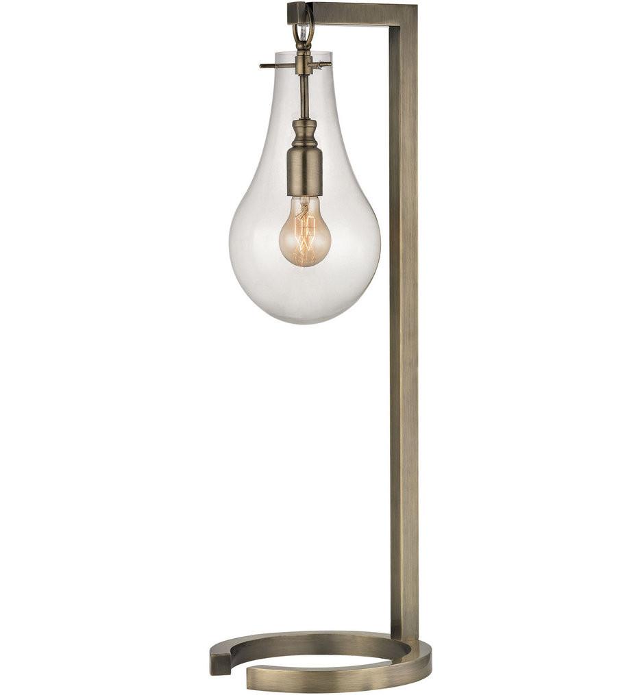 Dimond - D330 - Antique Brass Table Lamp