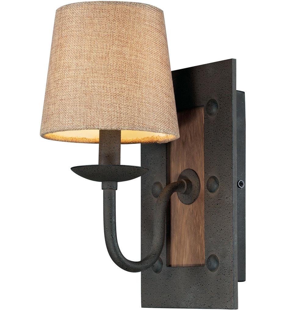 ELK Lighting - 14130/1 - Early American Vintage Rust 6 Inch 1 Light Wall Sconce