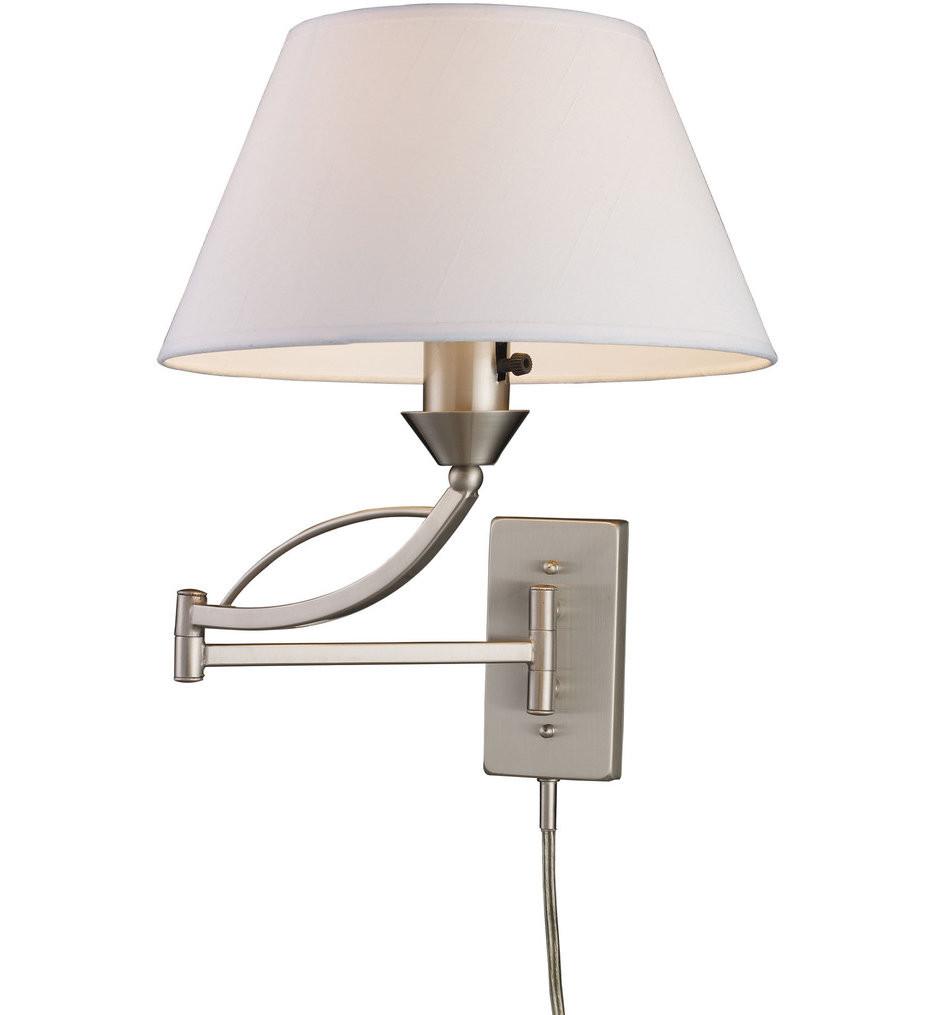 ELK Lighting - Elysburg 1 Light Swing Arm Light