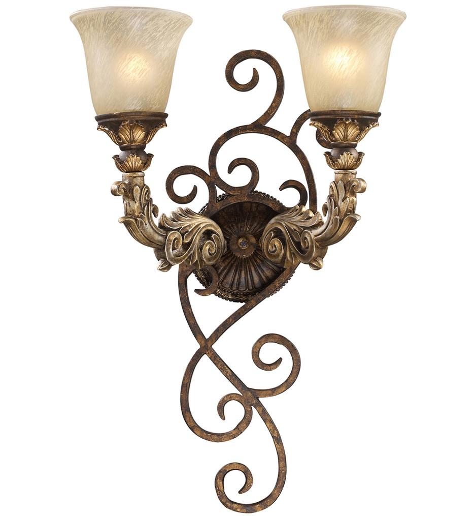 ELK Lighting - Regency Burnt Bronze 2 Light Wall Sconce