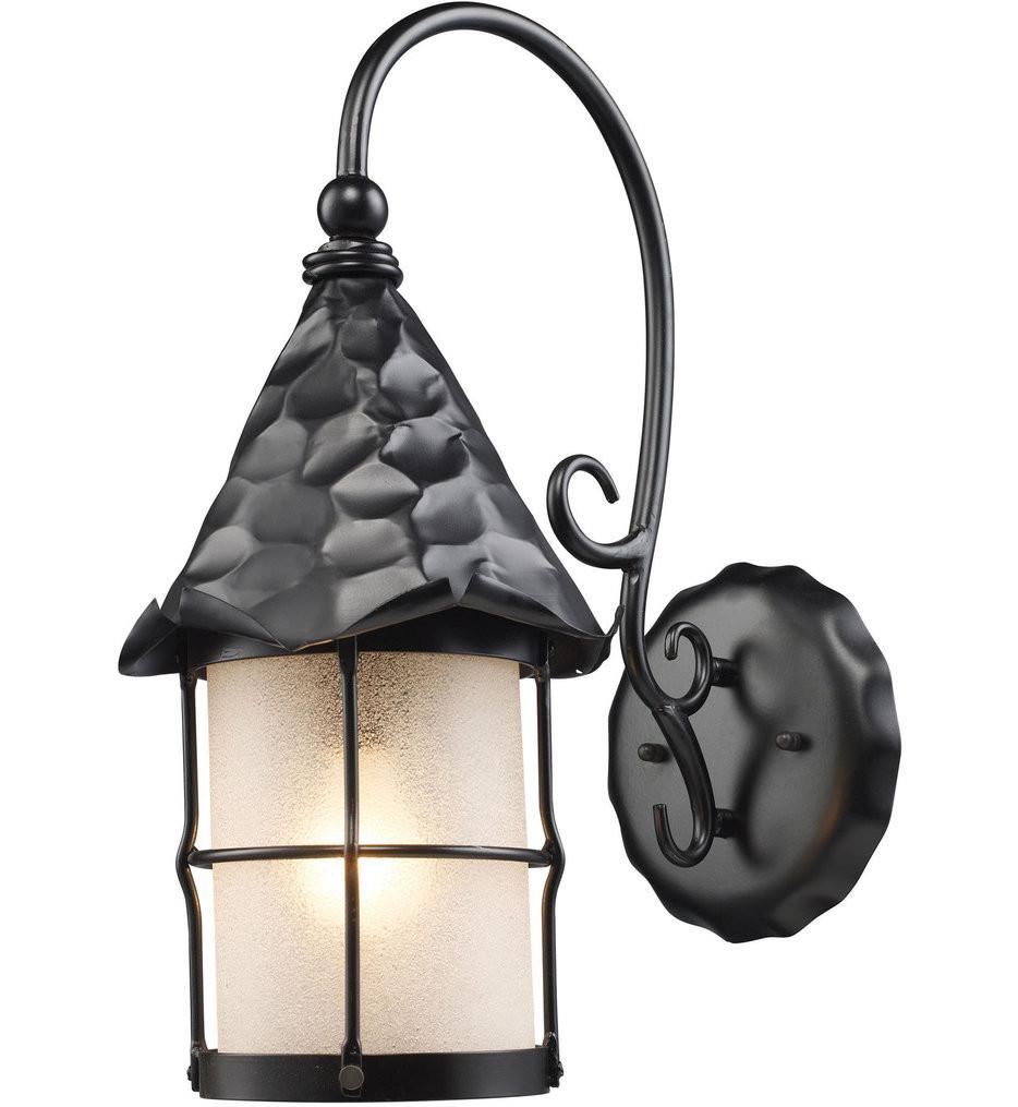 ELK Lighting - Rustica 14 Inch 1 Light Outdoor Wall Sconce