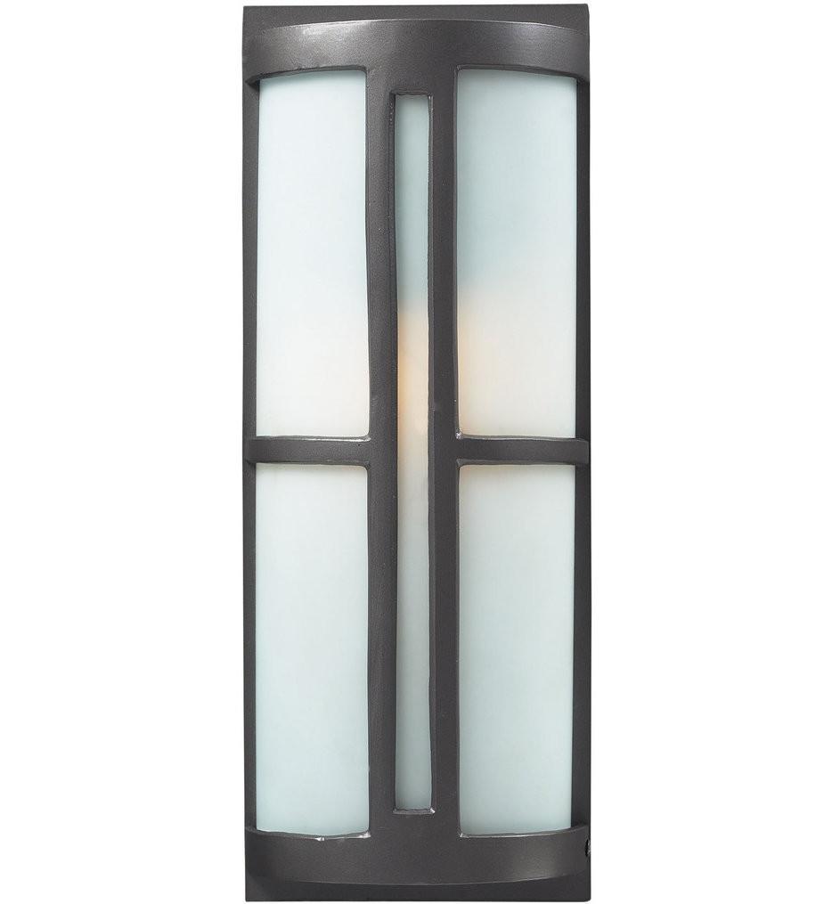 ELK Lighting - Trevot 1 Light Outdoor Wall Sconce