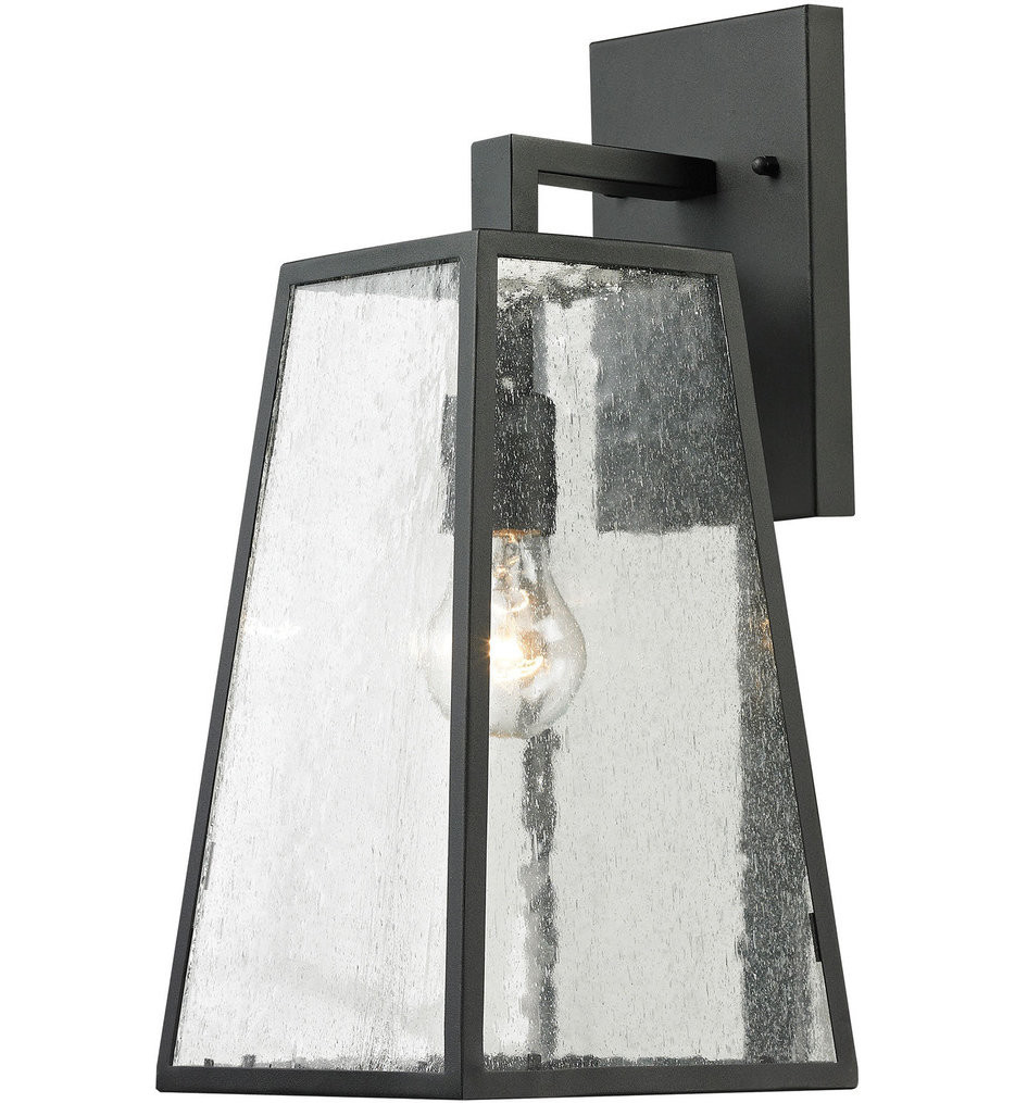 ELK Lighting - 45091/1 - Meditterano Charcoal 7 Inch 1 Light Outdoor Wall Sconce