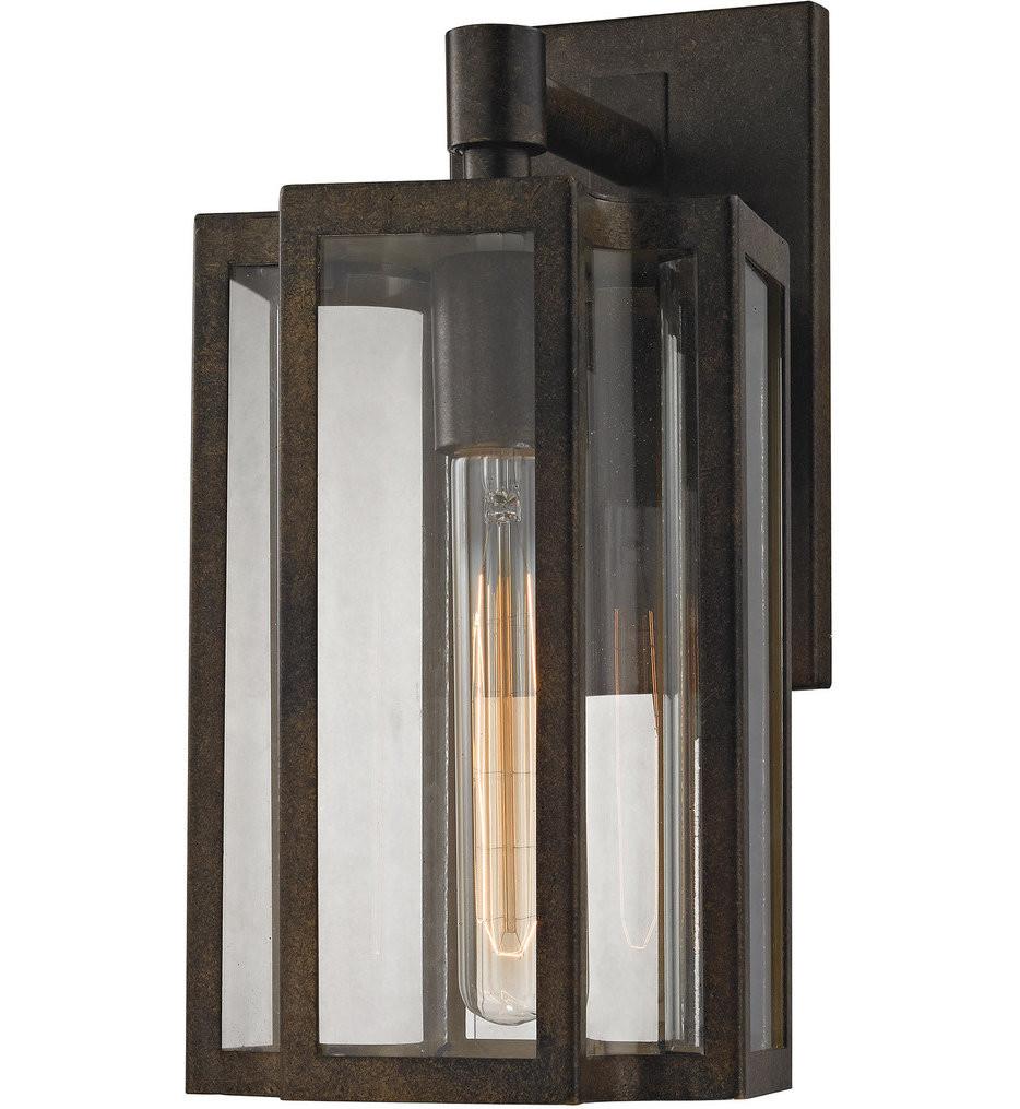 ELK Lighting - 45144/1 - Bianca Hazelnut Bronze 6 Inch 1 Light Outdoor Wall Sconce