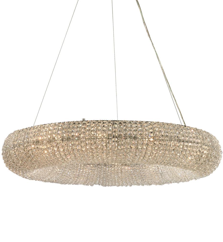 ELK Lighting - Crystal Ring Polished Chrome 12 Light Chandelier