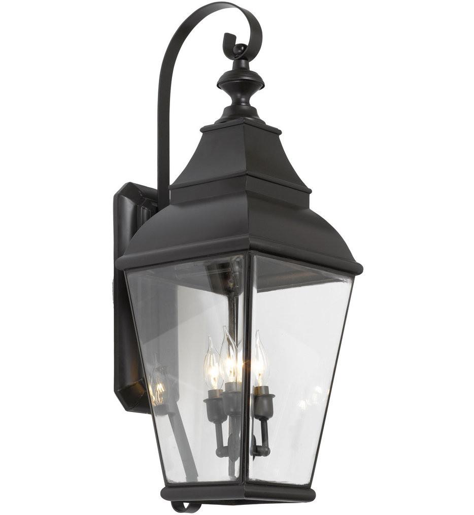 ELK Lighting - 5216-C - Bristol Charcoal 11 Inch 3 Light Outdoor Wall Sconce