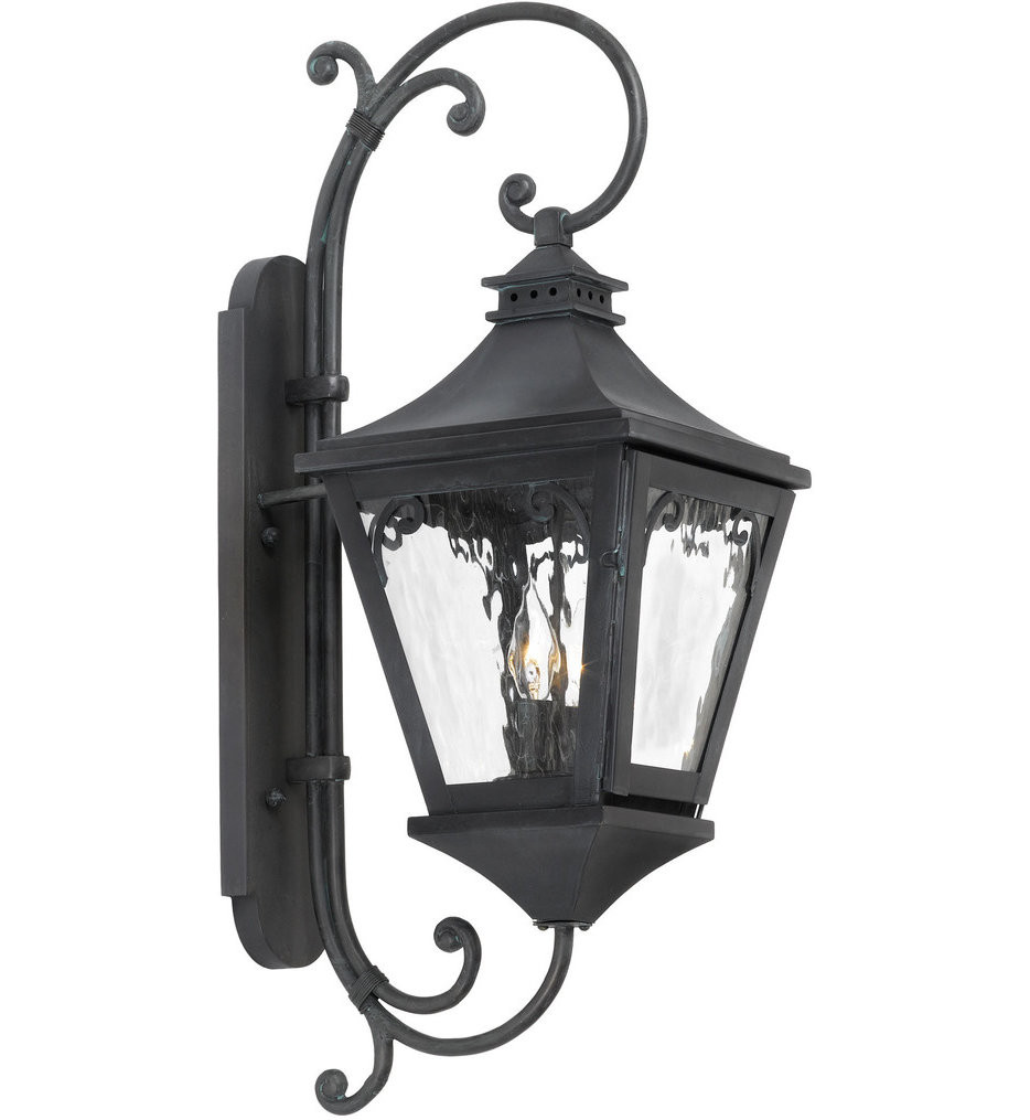 ELK Lighting - 6711-C - Manor Charcoal 10 Inch 2 Light Outdoor Wall Sconce