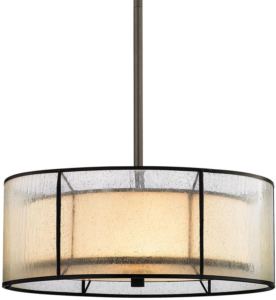 ELK Lighting - Mirage Tiffany Bronze 3 Light Chandelier