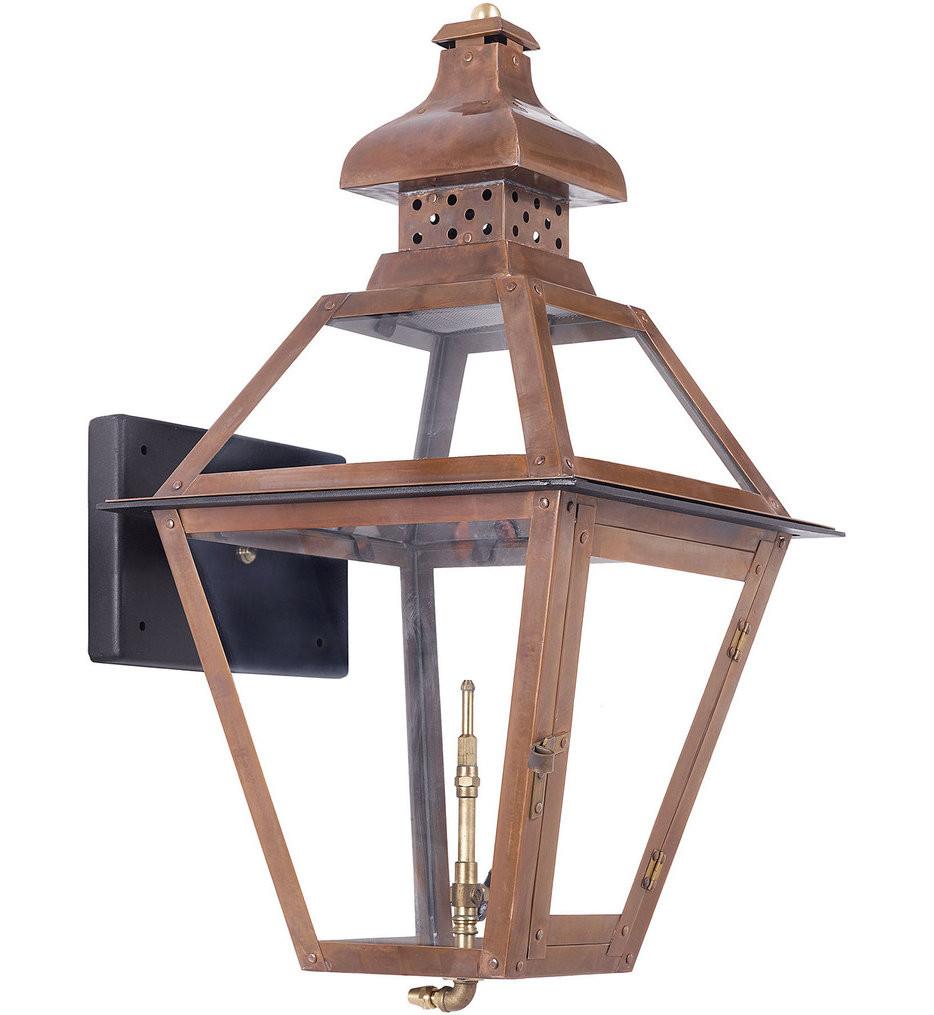 ELK Lighting - 7917-WP - Bayou Aged Copper 13 Inch Light Outdoor Wall Lantern