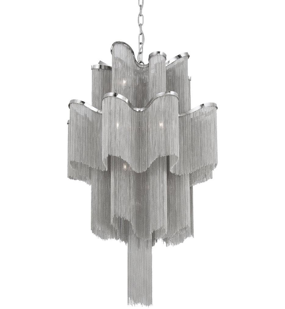 Eurofase - 23109-018 - Cadena Nickel 12 Light Chandelier