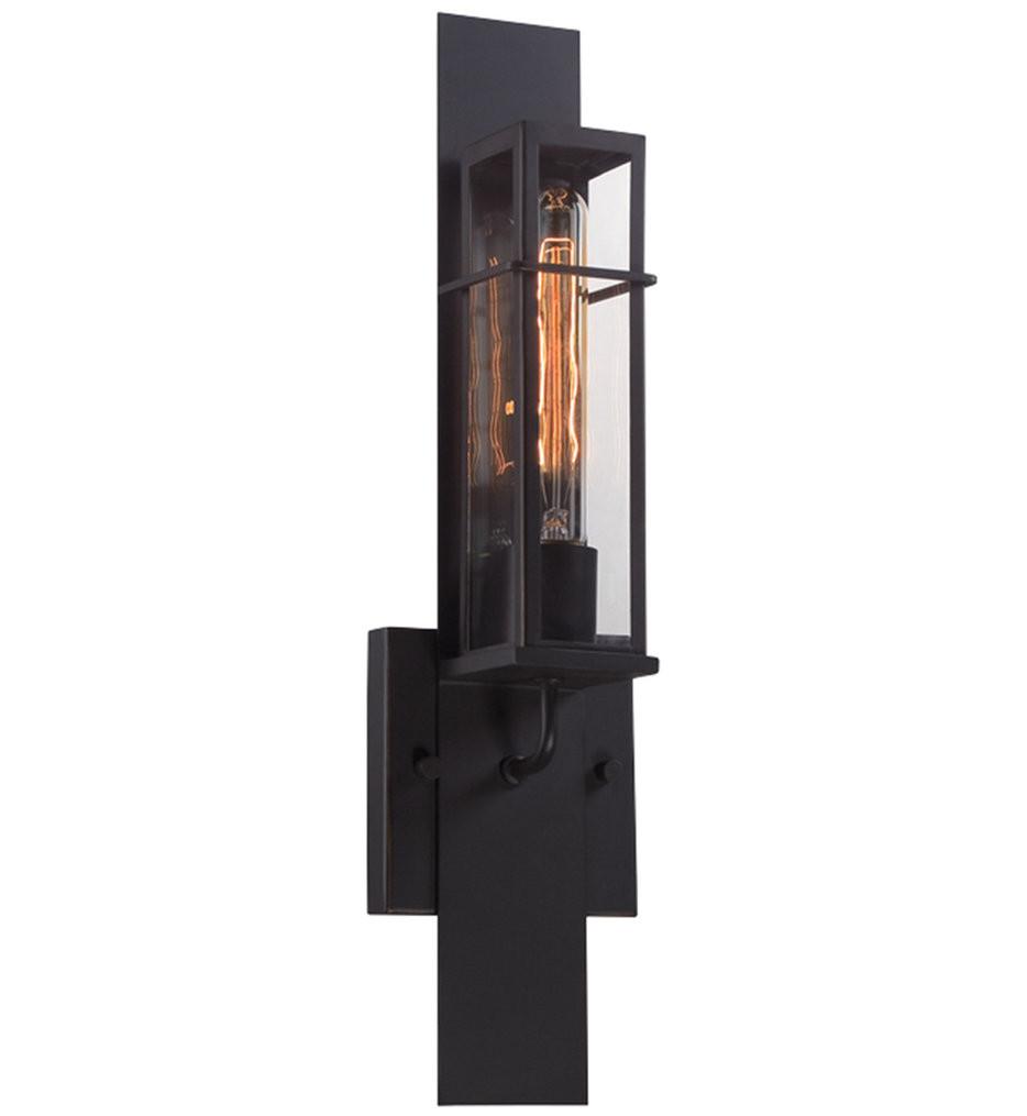 Eurofase - 28053-019 - Muller Bronze 1 Light Outdoor Wall Sconce