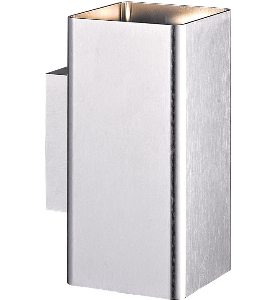 Eurofase - 28302-018 - Lungo Brushed Aluminum 2 Light Outdoor Wall Sconce