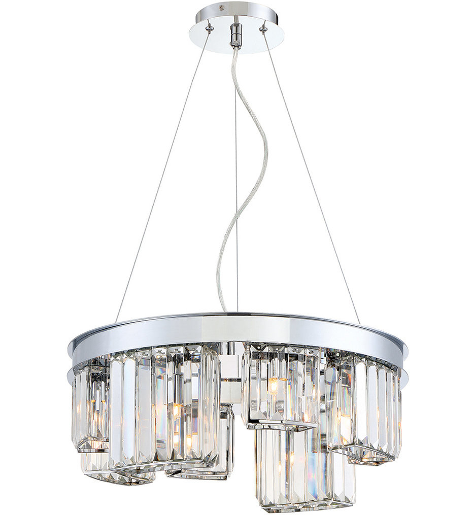 Eurofase - 29078-011 - Lumino Chrome 8 Light Chandelier