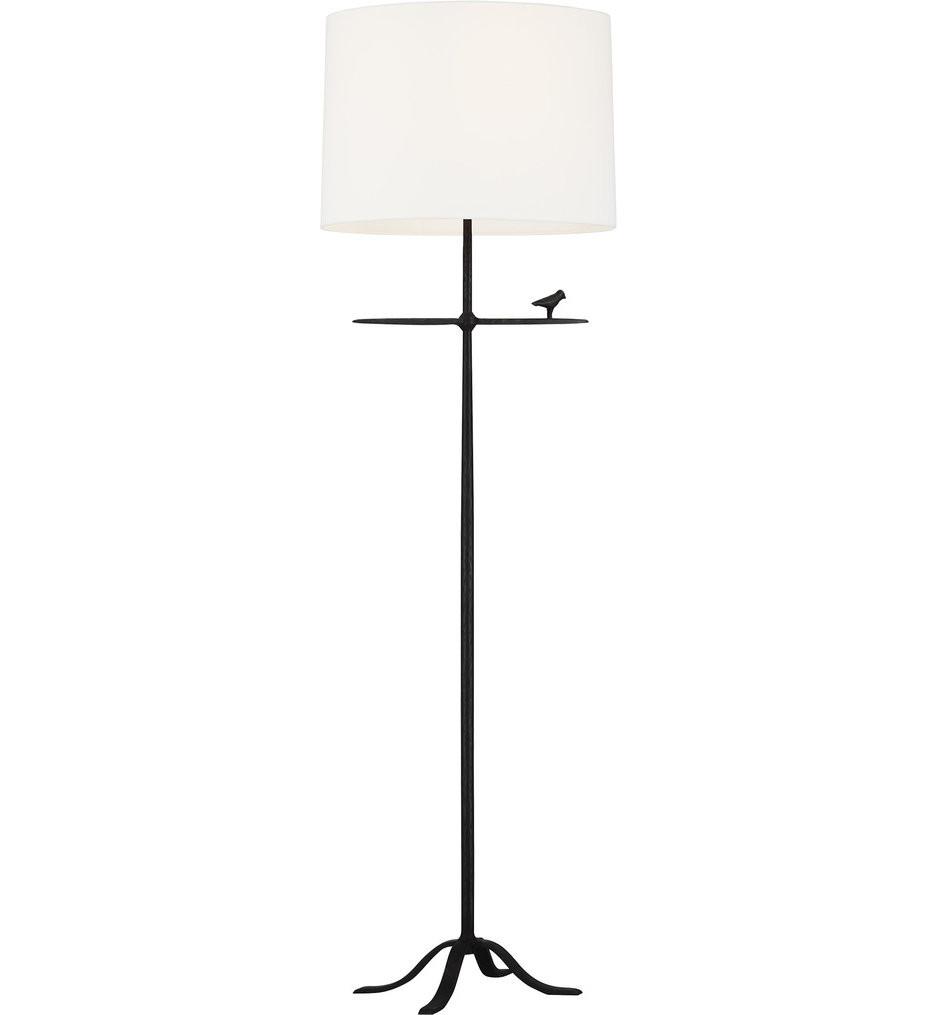 ED Ellen DeGeneres - ET1031AI1 - Caroline Aged Iron 1 Light Floor Lamp