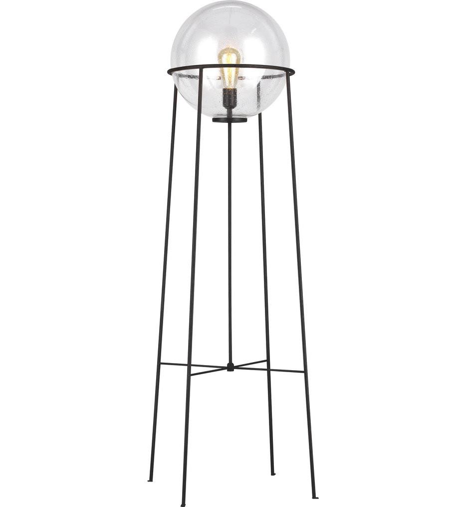 ED Ellen DeGeneres - ET1061AI1 - Atlas Aged Iron 1 Light Floor Lamp