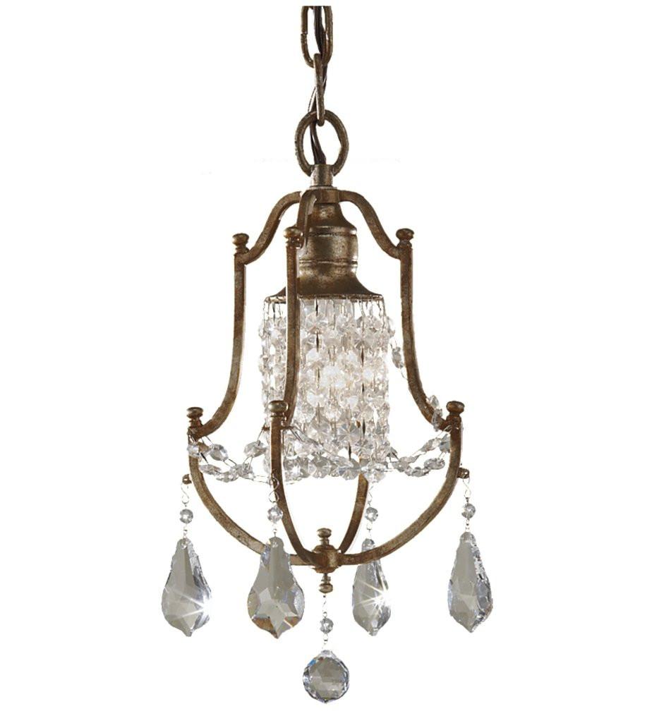 Feiss - Valentina Oxidized Bronze Mini-Chandelier