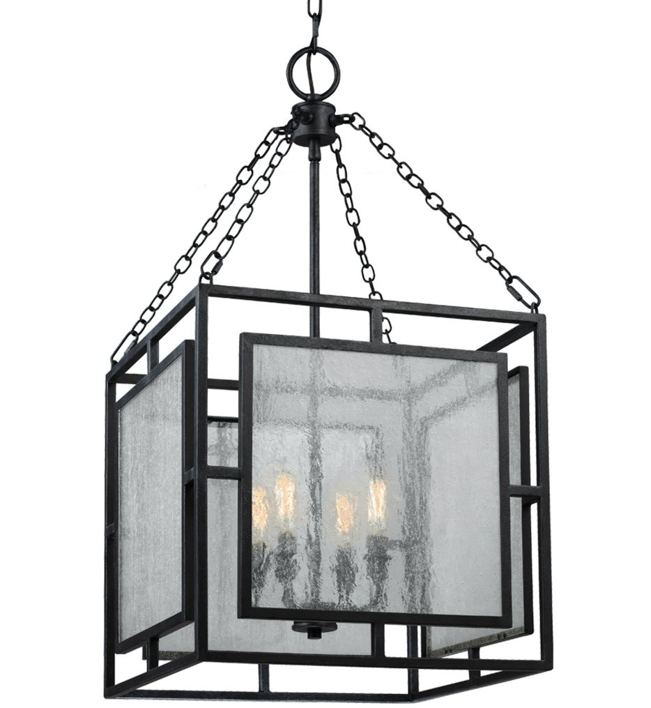 Feiss - F3036/4DWZ - Prairielands Dark Weathered Zinc 4 Light Chandelier